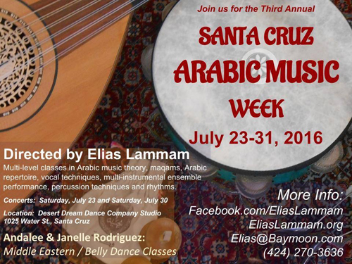 Santa Cruz Arabic Music Week